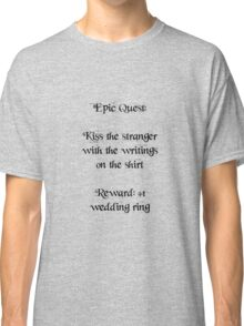 Wedding Ring Quest Classic T-Shirt
