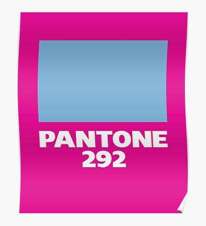 Pantone 292 Poster