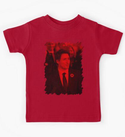 Justin Trudeau - Celebrity Kids Tee