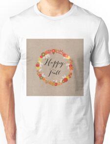 Happy Fall Unisex T-Shirt