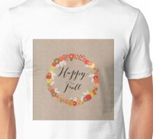 Happy Fall Unisex T-Shirt