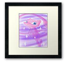 Pokemon! - Mew! Framed Print