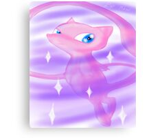 Pokemon! - Mew! Canvas Print