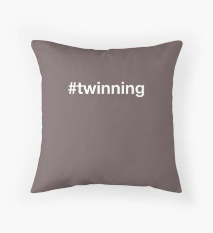 Twinning Throw Pillow