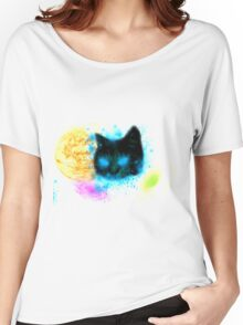 PAWSING THE UNIVERSE Women's Relaxed Fit T-Shirt
