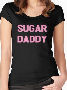 SUGAR DADDY Women's Fitted Scoop T-Shirt