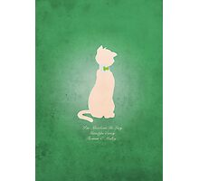 Aristocats inspired design (Thomas O'Mally). Photographic Print