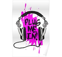 Plug Me In (Purple) Poster