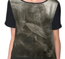 Crashed TIE Fighter Chiffon Top