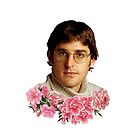 « flowery louis theroux » par Lily Wilkinson