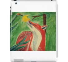 Fox and a Flower iPad Case/Skin
