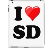 I Love SD iPad Case/Skin