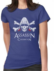 Assassin Cread - Assassin Caribbean Womens Fitted T-Shirt