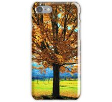 MAPLE TREE iPhone Case/Skin