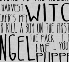 Buffy the Vampire Slayer Season 1 Sticker