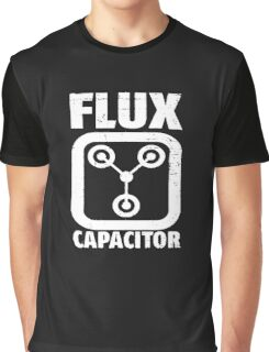 FLUX CAPACITOR LOGO FUNNY Graphic T-Shirt