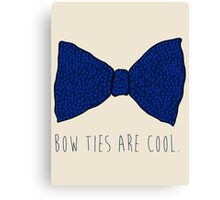Doctor Who Bow Ties Canvas Print