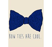 Doctor Who Bow Ties Photographic Print