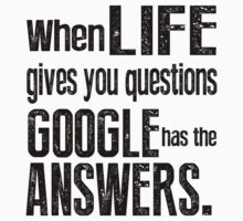 Google Has the Answer by geekchicprints