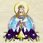 Our Lady of Wisdom by LillyKitten