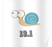 Blue Shelled Snail 13.1 Poster