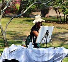 Artist At The Park by Cynthia48