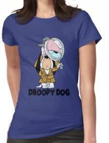 Droopy dog Womens Fitted T-Shirt