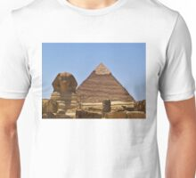 Pyramid And Sphinx Unisex T-Shirt