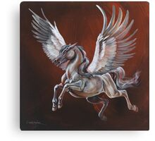 On the wings of Pegasus Canvas Print