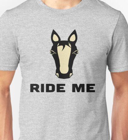 Ride Me Horse Funny Design Unisex T-Shirt