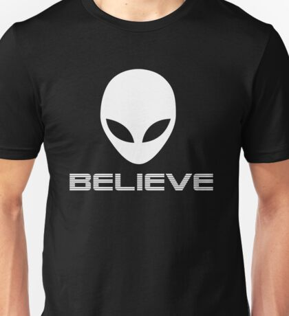 Believe Aliens Unisex T-Shirt