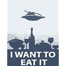 I WANT TO EAT IT by Alexander  Medvedev
