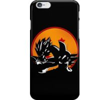 Fearsome Saiyans Goku & Vegeta iPhone Case/Skin
