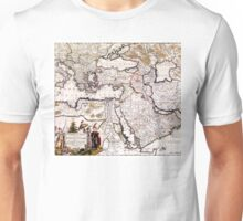 Map of The Ottoman Empire - 18th century Unisex T-Shirt