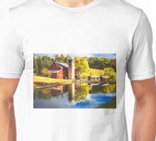 """""""Idyllic Farm"""" Unisex T-Shirt"""
