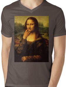 mona uhh Mens V-Neck T-Shirt