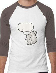 cartoon squirrel Men's Baseball ¾ T-Shirt