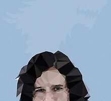 Jon Snow by pop-lygons