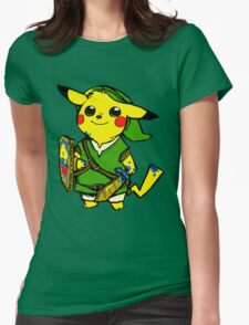 Pikalink Womens Fitted T-Shirt