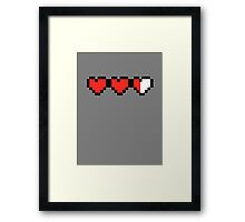 Almost Full Hearted Framed Print