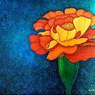 Golden petals by Madalena Lobao-Tello