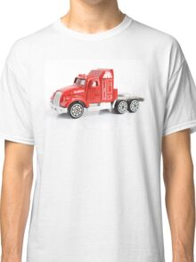 Isolated red toy truck  Classic T-Shirt