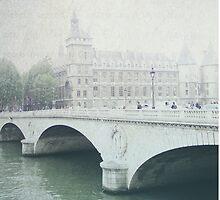 Letters From Pont Saint-Michel - Paris by theparrishhouse