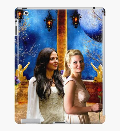 Swan Queen (Regina & Emma - Once upon a time) iPad Case/Skin