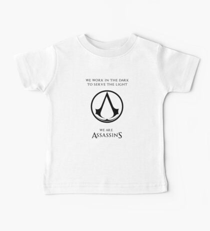we are assassins Baby Tee