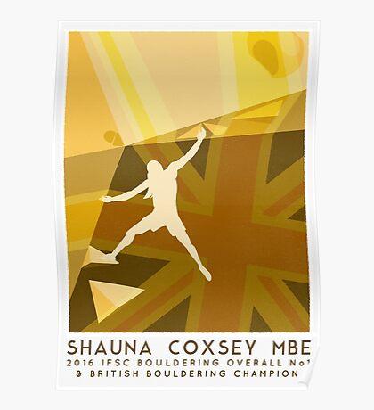 Shauna Coxsey 2016  Poster