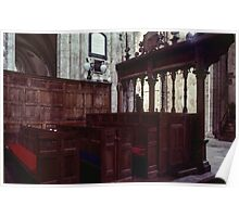 Box Pews Abbey Dore England 19840517 0055 Poster