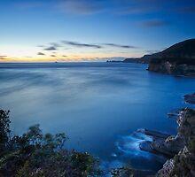 Sunrise from Tasman Arch Lookout, Tasmania by Chris Cobern
