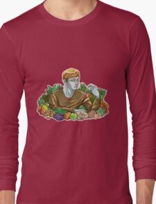 Kieren and Vegetables Long Sleeve T-Shirt