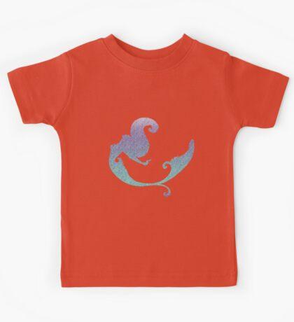 Mermaid glittering gradient Kids Tee